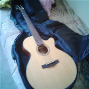 Cort guitar with Amplifier