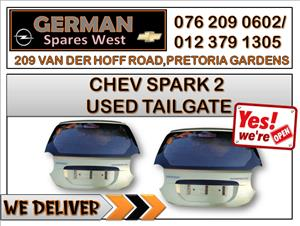 CHEV SPARK 2 USED TAILGATE FOR SALE