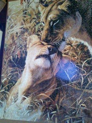 Lion puzzle for sale