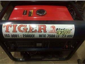 Generator Tiger 7.5KVA for sale