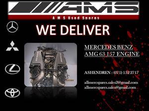 MERCEDES BENZ AMG 63 157 ENGINE