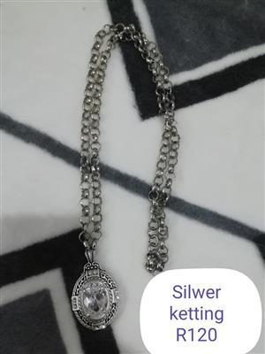 Silver ketting te koop