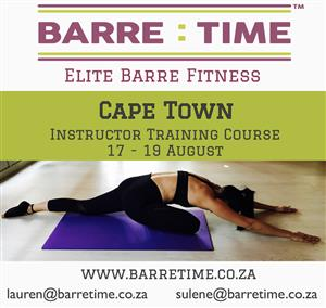 Barre Time Instructor Training Course