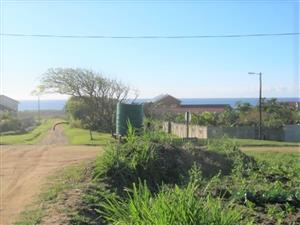Vacant Land - Close to the Beach with Sea Views - for sale in Port Edward