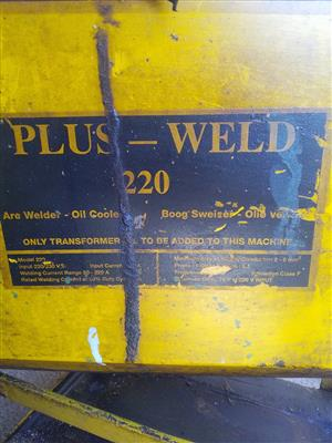 Welder, Work table and Steel cabinet for sale