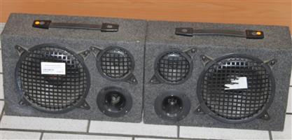 S035200A 2 x Sakyno sp 150b speakers #Rosettenvillepawnshop