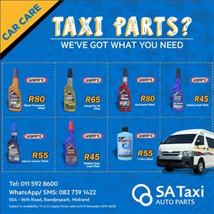 Wynn's Car Care Products - SA Taxi Auto Parts quality Taxi spares