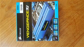 Corsair Vengeance Low Profile 32 GB (4x8GB) Kit DDR3 Desktop Memory kit - Blue