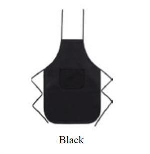 Chefs Non Woven Apron - Black