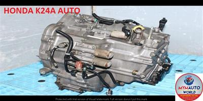 IMPORTED USED HONDA K24A AUTOMATIC GEARBOX