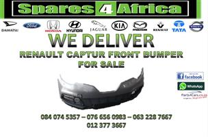 RENAULT CAPTUR FRONT BUMPER FOR SALE