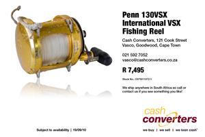 Penn 130VSX International VSX Fishing Reel