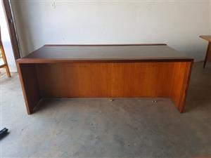 Boardroom Table 2 tone - 6 Seater