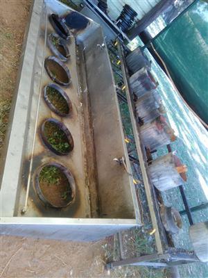 6 Burner wok gas cooker