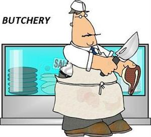 Butchery with excellent equipment!