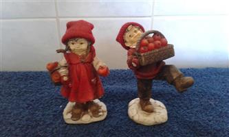 Hansel and Gretel figurines
