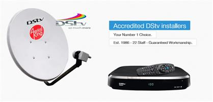 ACCREDITED DSTV INSTALLERS CALL 0810299163