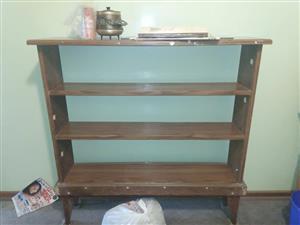 4 Tier wooden shelf for sale