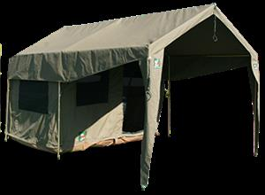 SAHARA JUNIOR HOWARD RIPSTOP CANVAS TENT-TIMES RUNNING OUT
