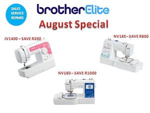Sewing & Embroidery machine dealers - Sales| Service | Repairs - Brother Elite