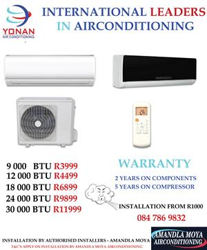 Air Conditioners & Installation Available