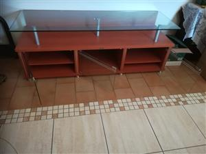 glass top tv unit for sale