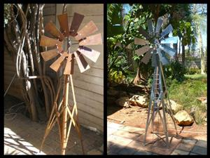 Windmills for the garden