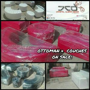 Ottoman and Couch Sets For Sale