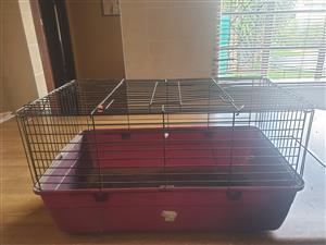 Furry pet cage