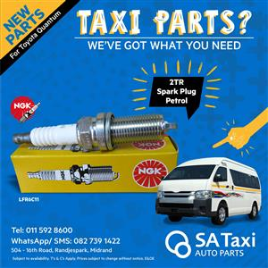 NGK 2TR Spark Plug suitable for Toyota Quantum - SA Taxi Auto Parts quality taxi spares