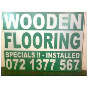 HOUTVLOERE / WOODEN FLOORS