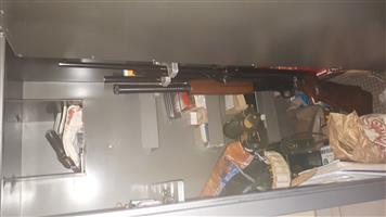 7 rifle gun safe