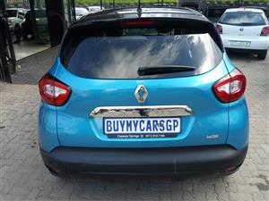 2017 Renault Captur 88kW turbo Dynamique auto