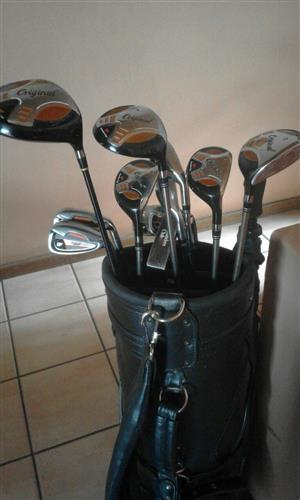 Complete golf set for sale like new