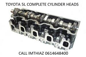 TOYOTA HILUX 3.0LT (5L) CYLINDER HEADS BARE AND COMPLETE (BRAND NEW)