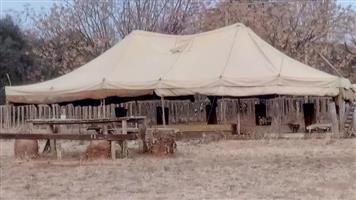 10 x 6 Tent te koop
