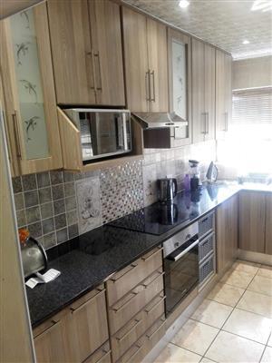 Kitchen inbuilt cupboards