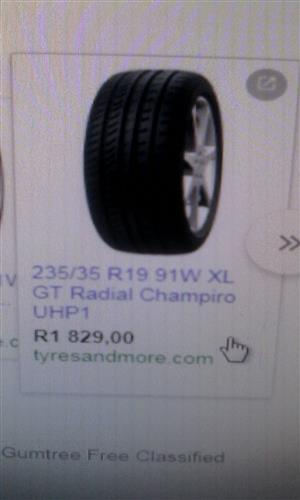 19 inch Tyre For Sale