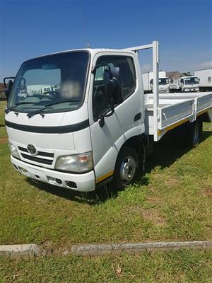 2013 Toyota Dyna, 4093 (1.5Ton) dropside truck for sale