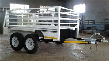2.4m Utility trailer with brake system.