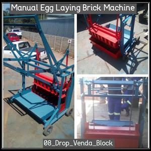 08 & 16 Drop Venda Block Brick Making Machines