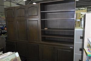 Wooden 3pc.  Wall Unit