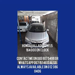 2011 Honda Ballade 1.5 Comfort automatic