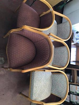 Tub chairs for sale.