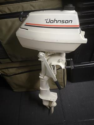 Johnson 4 Hp outboard,