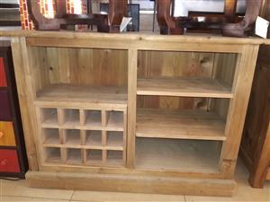 Beautiful Solid Wood Wine Cabinet