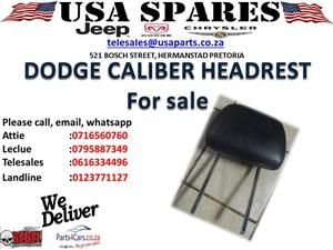 Dodge caliber used headrest for sale