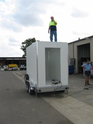 1.2m Mobile Fridges And 2.5m Mobile Food Trailer 4 Sale's