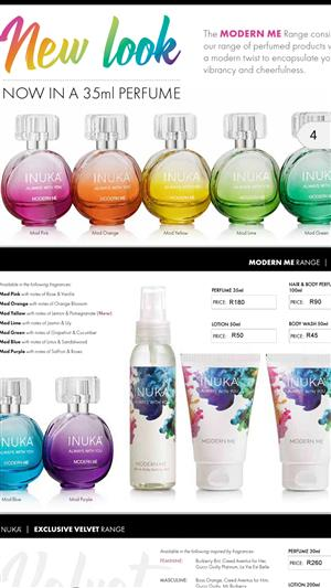 Inuka fragrances business opportunity