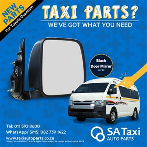 Door Mirror suitable for Toyota Quantum - SA Taxi Auto Parts quality spares